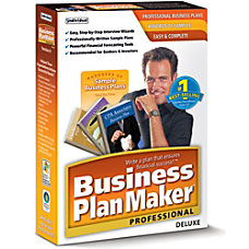 Business PlanMaker Professional Deluxe Download Version