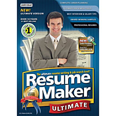 ResumeMaker Professional Ultimate 4 Download Version