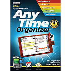 AnyTime Organizer 120 Download Version