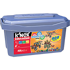 KNEX Education 408 Piece Basic Maker