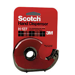 Scotch Hand Tape Dispenser Smoke