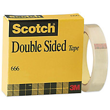 Scotch Double Coated Tape with Liner