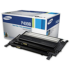Samsung CLT P409B Black Toner Cartridges