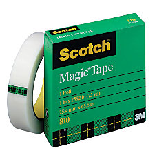 Scotch Magic 810 Tape 1 x