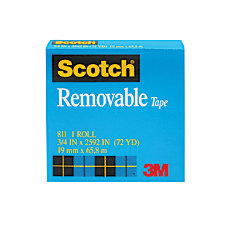 Scotch Magic 811 Removable Tape 3