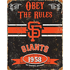 Party Animal San Francisco Giants Embossed