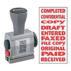 Xstamper 10 In 1 Phrase Stamp
