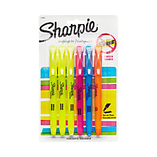 Sharpie Accent Pocket Highlighters Assorted Pack