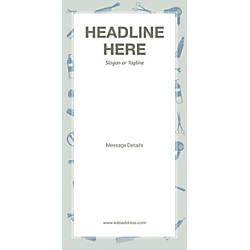 Custom Vertical Banner Salon Tools