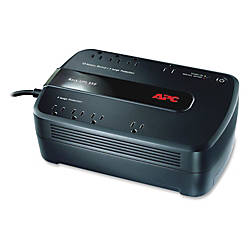 APC® Back-UPS® ES 550 Battery Backup, BE550G, 550VA/330 Watt
