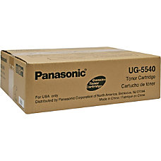Panasonic UG 5540 Black Toner Cartridge