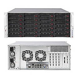 Supermicro SuperStorage 6048R E1CR24N Barebone System