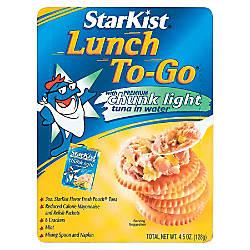 Starkist Lunch To Go Tuna Kit