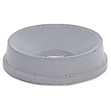 Rubbermaid Waste Receptacle Funnel Top Gray