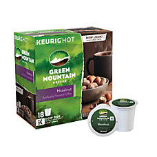 Green Mountain Coffee Pods Hazelnut Coffee