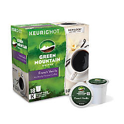 Green Mountain Coffee Pods French Vanilla