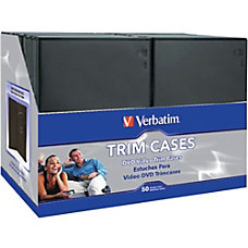 Verbatim 95094 DVD Trim Storage Cases
