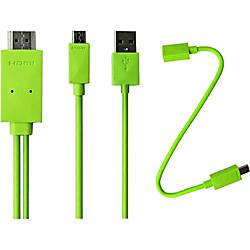 4XEM 6ft Micro USB To HDMI