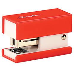 Swingline Mini Stapler Red