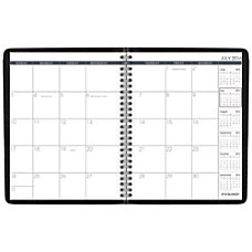 AT A GLANCE Academic Monthly Planner