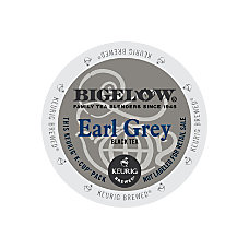 Bigelow Earl Grey Tea K Cups