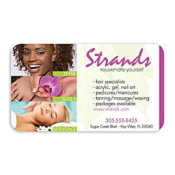 Full Color Flat Print Business Cards