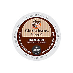 Gloria Jeans Coffees Hazelnut Coffee K