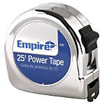 Empire Chrome Case Power Tape Measure