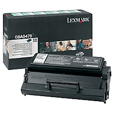 Lexmark GSA0478 Black Toner Cartridge