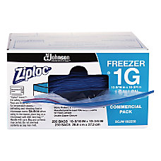 Ziploc Freezer And Storage Bags 1