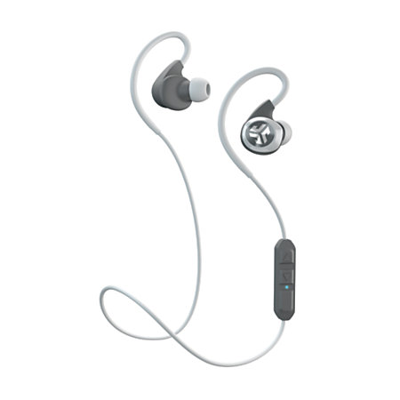 jlab epic bluetooth 4 0 wireless sports earbuds whitegray by office depot officemax. Black Bedroom Furniture Sets. Home Design Ideas