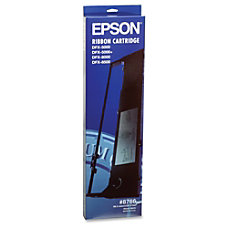 Epson 8766 Black Nylon Printer Ribbon