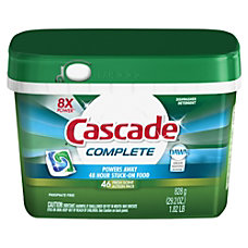 Cascade Complete Dishwashing ActionPacs With Dawn