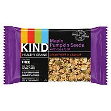 KIND Healthy Grains Snack Bars Maple