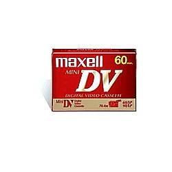Maxell Mini DV Videocassette