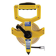 Empire Open Reel Fiberglass Measuring Tape
