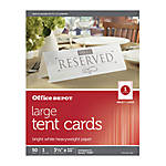 Place Cards and Tent Cards