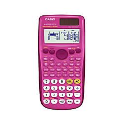 Casio Scientific Calculator Pink FX300ESPLUS PK