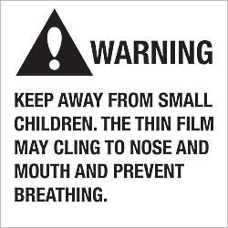 Tape Logic Preprinted Labels Warning Keep