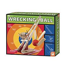 KEVA Wrecking Ball Set Natural Pine