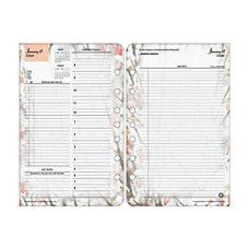 FranklinCovey Blooms Planner Refill 5 12