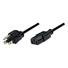 Manhattan PC Power Cable 6 Black
