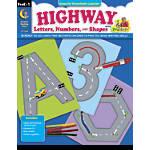 Creative Teaching Press Highway Letters Numbers