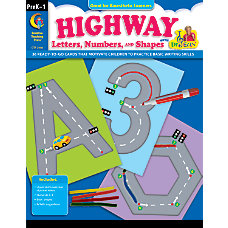 Creative Teaching Press Highway Letters Numbers
