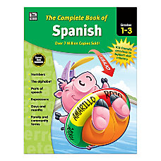 Thinking Kids Complete Book Of Spanish