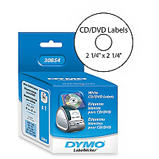 DYMO Thermal CDDVD Labels White Pack