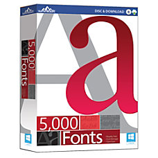 5000 Fonts Download Version