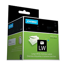 DYMO White Thermal Address Labels 1