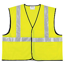 Class 2 Safety Vest Fluorescent Lime