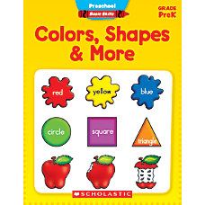 Scholastic Basic Skills Preschool Colors Shapes